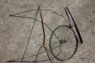 Roue de bicyclette tombée d'un tabouret (vers 1913)